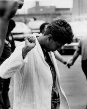 Mattie Jones in 1981.