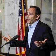 Former Gov.  Matt  Bevin defending his pardons
