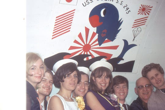 The last New Year's Eve celebrated aboard the USS Cobia before it left Milwaukee for Manitowoc.