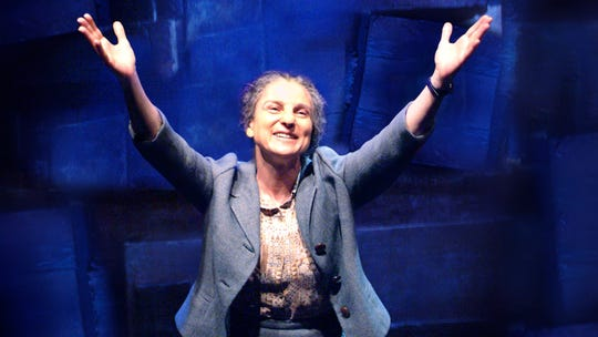 "Tovah Feldshuh is Golda Meir in ""Golda's Balcony, the Film."""