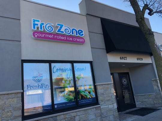 Fro Zone, a gourmet rolled ice cream shop, formerly occupied the space being taken over by FreshFin.