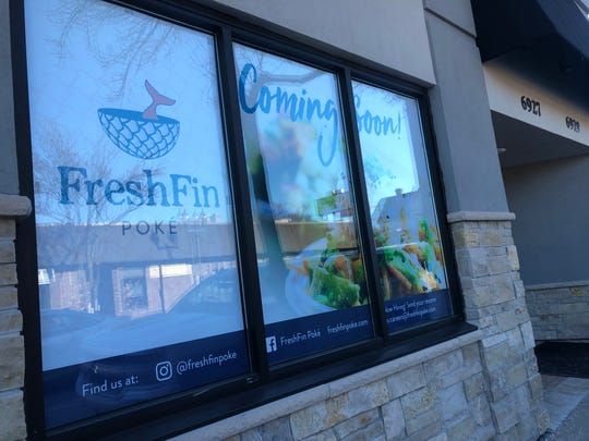 FreshFin Poke, who as four locations across Wisconsin, is coming to 6927 W. North Ave. in April 2020. Co-owner Nate Arkush said Wauwatosa customers have been regulars at all of their locations ever since they opened their first location in 2017.