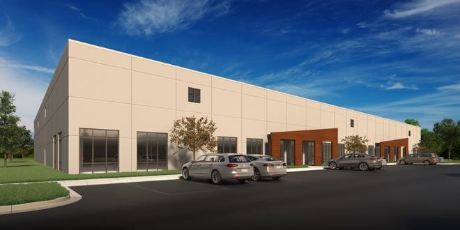 A light industrial building is coming to a Glendale site east of I-43 and north of the Home Depot store on North Port Washington Road.