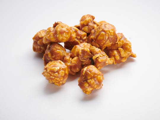 Pop's teamed up with Milwaukee's SoulBoxer Cocktail Co. to make a Brandy Old-Fashioned gourmet popcorn.