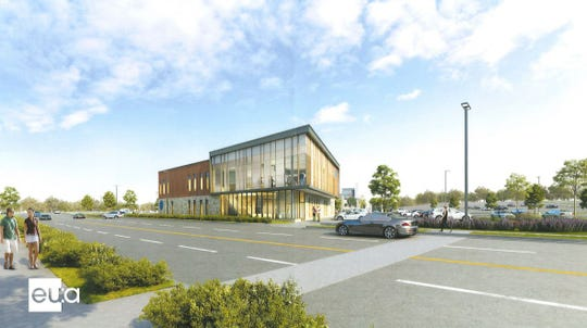 The two-story Orthopaedic Associates of Wisconsin facility would include exam rooms, X-ray and MRI services, pre- and post- recovery bays, a pain management procedure room and more.