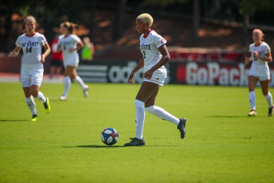 The Utah Royals selected Tziarra King, a North Carolina State and Winslow Twp. alumna, with the eighth pick in the 2020 NWSL College Draft on Jan. 16.
