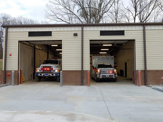 The Dickson County fire station at 2241 West Iron Hill Road in south Dickson County.