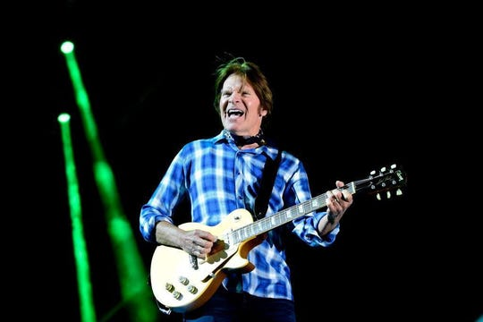 Musician John Fogerty performs during Stagecoach California's Country Music Festival at Empire Polo Club on April 30, 2016 in Indio, California.