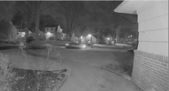 Hillsdale Police released surveillance photo near where a man followed a teen to her home.