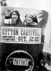 Advertising the 1924 Opelousas Cotton Carnival