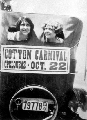 Advertising the 1924 Opelousas Cotton Carnival