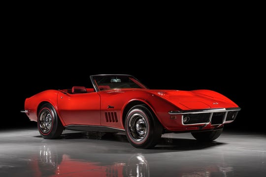 This 1969 Corvette convertible is one of only 255 built that year.