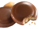 The Tagalong Girl Scout cookie has chocolate and peanut butter.