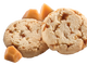 The Toffee-tastics Girl Scout cookie has chunks of toffee.