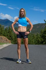 Kellyn Taylor of Flagstaff is among the leading contenders to make the U.S. Olympic marathon team. She is running in the Humana Rock 'n' Roll 1/2 Marathon as a tune-up race Sunday.