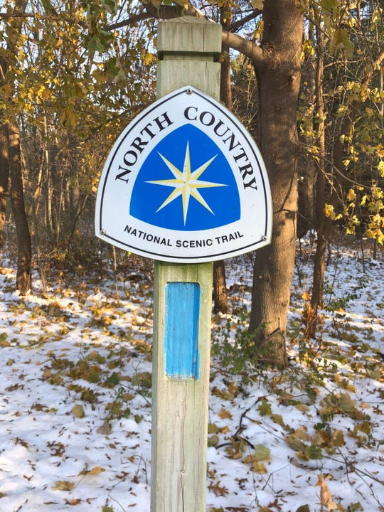 Anne Brown plans to tackle 100 miles of the North Country National Scenic Trail in 2020. Portions of the trail run through Lowell State Game Area, where important wildlife and natural resources are strictly managed.