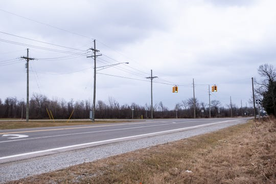 A roundabout is being discussed at the intersection of M-136 and North Road in North Street. The project is planned for 2023.