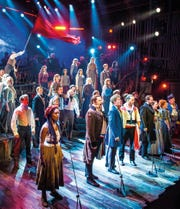 """""""Les Miserables - The Staged Concert"""" will be screened Saturday at the Capitol Theatre."""
