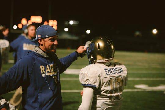 Garrett Hughes is taking over as head coach of the Reed football program.