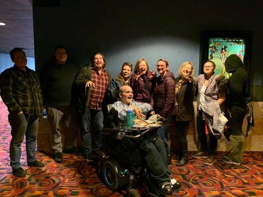 Members of the Reno Little Theater went to see CATS the movie on Tuesday at the Century Park Lane movie theater in Reno.