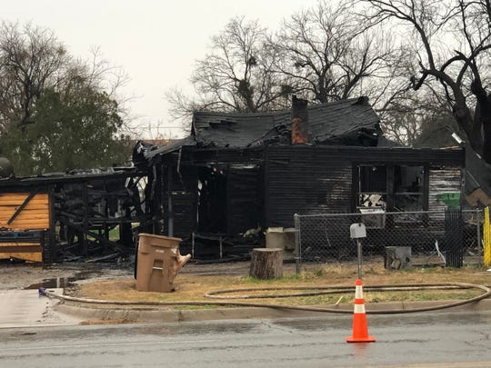 San Angelo Fire Department firefighters battled a house fire Thursday, Jan. 16, 2020 on West Avenue L.
