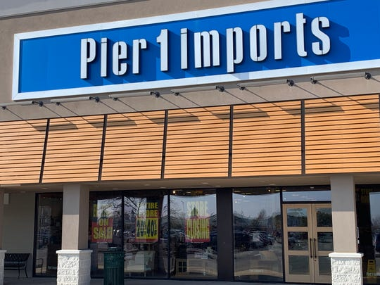 Signs posted at Pier 1 Imports in West Ocean City on Wednesday, Jan. 15 say the store will close.