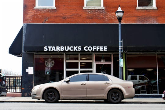 This Starbucks location will close on Jan. 27, 2020, according to a sign posted.