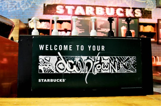 The coffee shop directed customers to visit the Starbucks inside the Price Cutter at St. Louis Street and National Avenue.