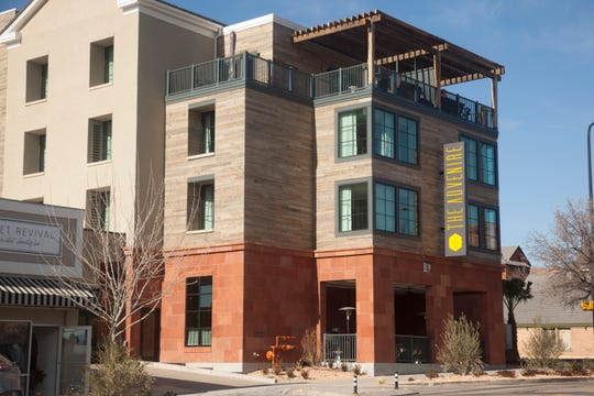 The Advenire, a Marriott Autograph Collection hotel, and Wood Ash Rye prepare for their official opening in the heart of downtown St. George Thursday, Jan. 16, 2020.