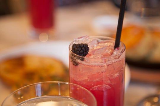 The Desert Switcha drink at Wood.Ash.Rye, The Advenire's hotel restaurant.