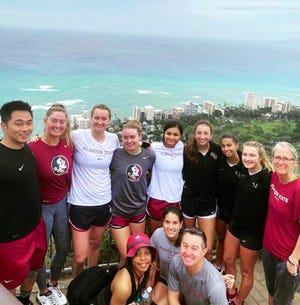 The FSU women's tennis team begins the spring season Friday in Hawaii.