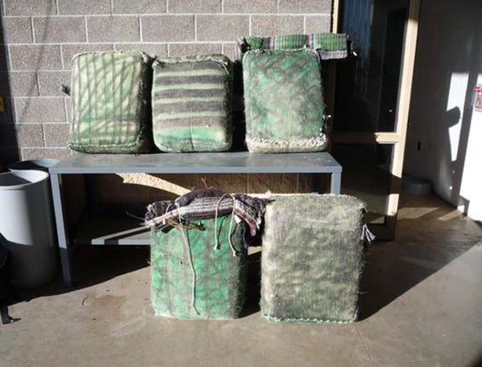U.S. Border Patrol agents in Van Horn seized about 800 pounds of marijuana over four days in three separate incidents.