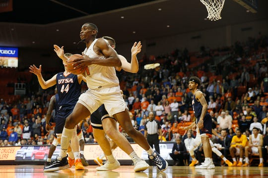 UTEP's Bryson Williams during the game against UTSA during the game Wednesday, Jan. 15, at the Don Haskins Center in El Paso.