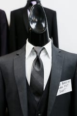 For 2020, bridal fashion experts say either the tuxedo or the suit are a fine choice for the groom.
