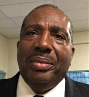 State Sen. Royce West of Dallas County visited El Paso on Wednesday,  Jan. 15, 2020, in his campaign for U.S. Senate in the 2020 Democratic primary.