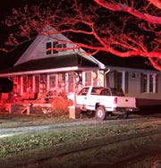 Vineland Police are investigating a crash that left a pickup truck wedged on the porch of Wheat Road home. Jan 15, 2020.