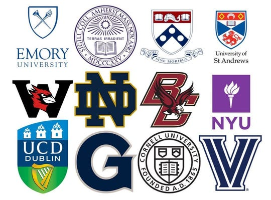 The class of 2020 will be attending some of the most competitive colleges and universities nationally and abroad.