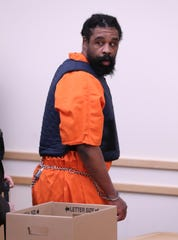Grafton Thomas appears at an arraignment in Rockland County Court in New City Jan. 16, 2020. He was charged with a machete attack on Hanukkah party goers in Monsey.
