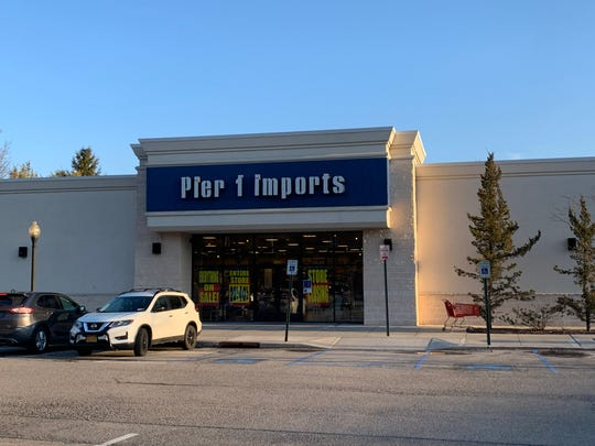The Pier 1 Imports location in Mohegan Lake on Jan. 15.