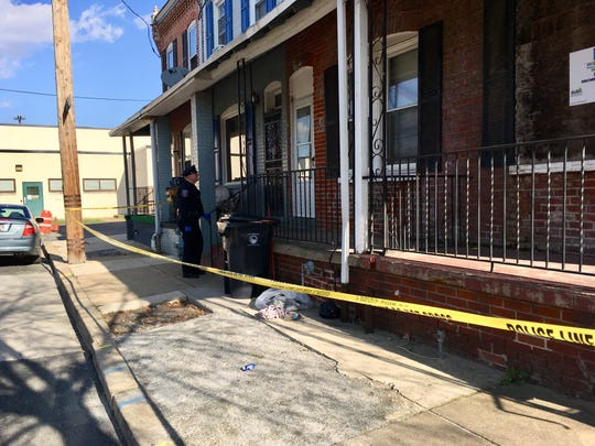 Wilmington Police responded to a shooting on Queen Street off of New Castle Avenue (Del. 9) in Wilmington Thursday afternoon.