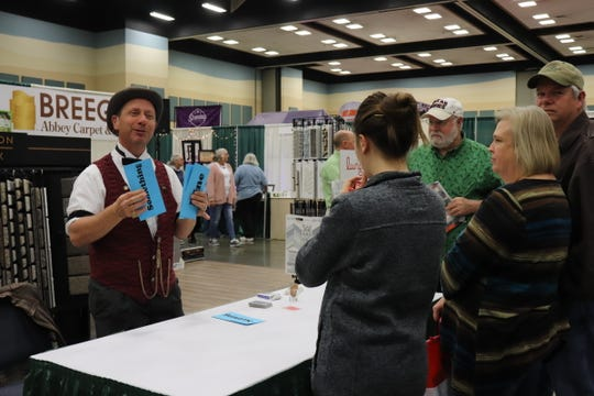 Nearly 200 vendors, including veteran exhibitor Breegle Abbey Carpet & Floor, will showcase their products at the Arts Alive! Home & Garden Festival Feb. 22  and 23, 2020, in the MPEC Exhibit Hall.
