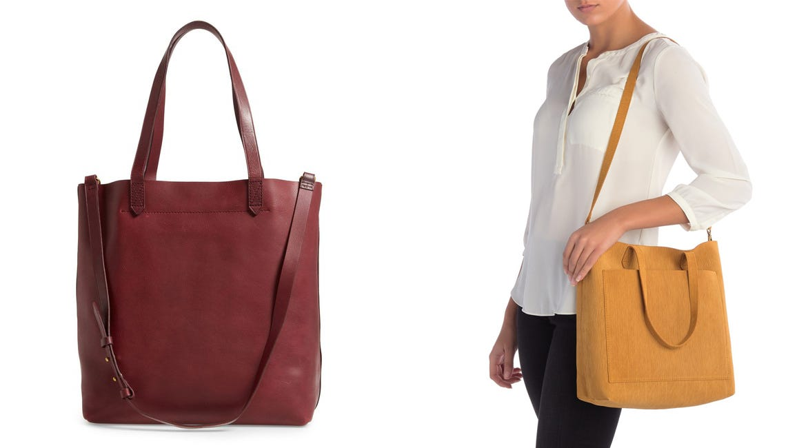 Madewell Deal Get The Madewell Medium Transport Tote For Its Lowest Price