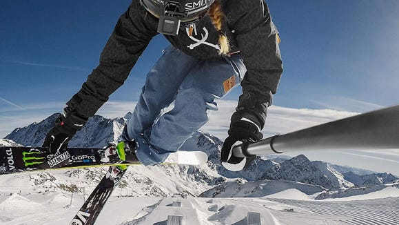 A GoPro extension pole helps you capture great footage of all your tricks.