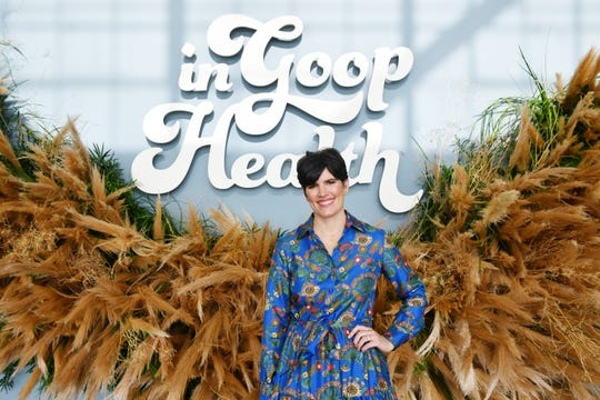 Goop's chief content officer Elise Loehnen at the goop Health Summit San Francisco on Nov. 16, 2019.