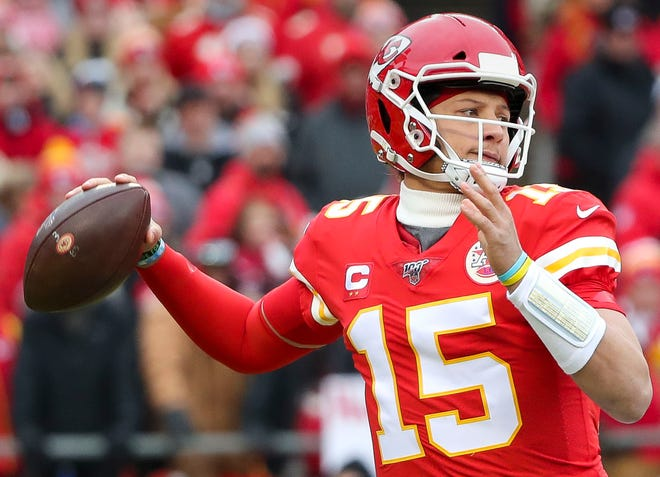 Patrick Mahomes has the Chiefs in their second consecutive AFC title game.