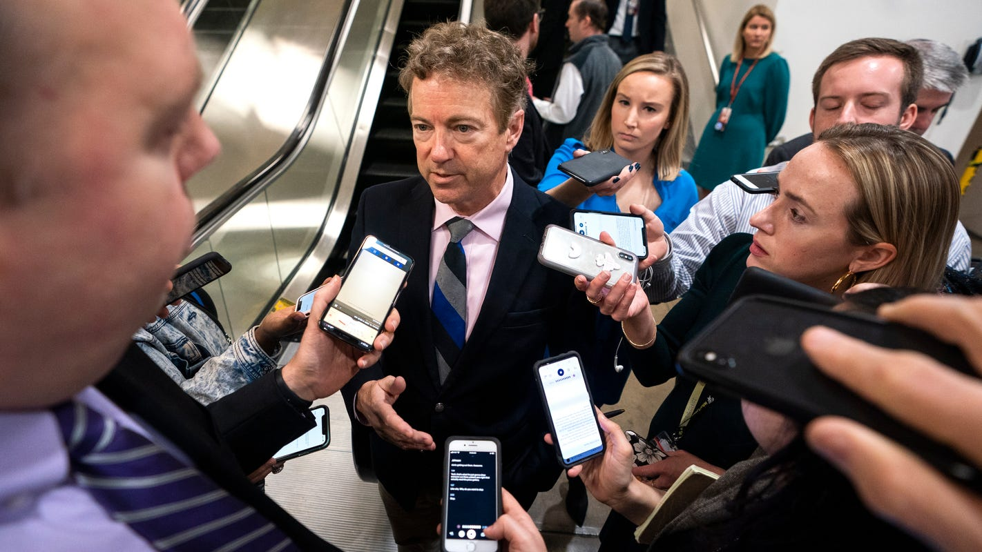 Rand Paul on Senate trial: 'I don't think any Republicans are going to vote for impeachment'