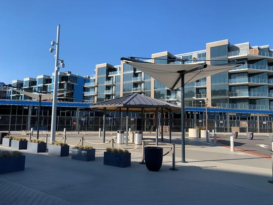 The exterior of The Lofts Pier Village in Long Branch as seen on Jan. 15, 2020.