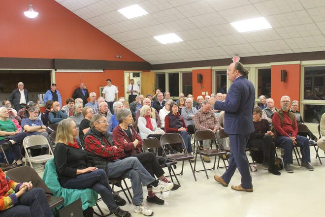 Nearly 90 voters turned out for a forum featuring four of five Democrats running to represent WNC in Congress.