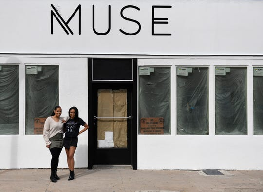 Monet Love and Michelle Joseph plan to open Muse Bistro, as seen photographed here Friday, Jan. 17, 2020. The restaurant plans to open Fall 2020.