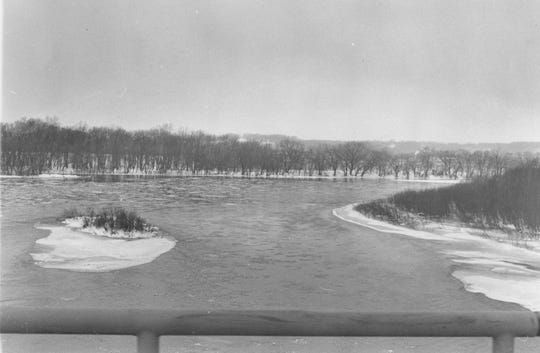 A flood struck locally in January 1959 that devastated some areas of Chillicothe and the state.